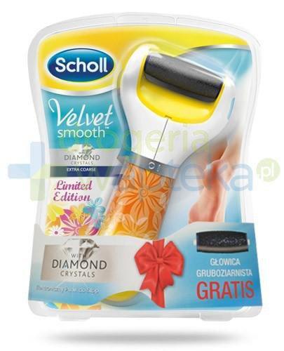 Scholl Velvet Smooth Limited Edition pilnik elektroniczny do stóp z kryształkami diament...  whited-out