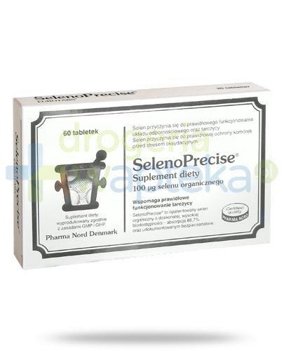 SelenoPrecise 100 μg selen organiczny 60 tabletek