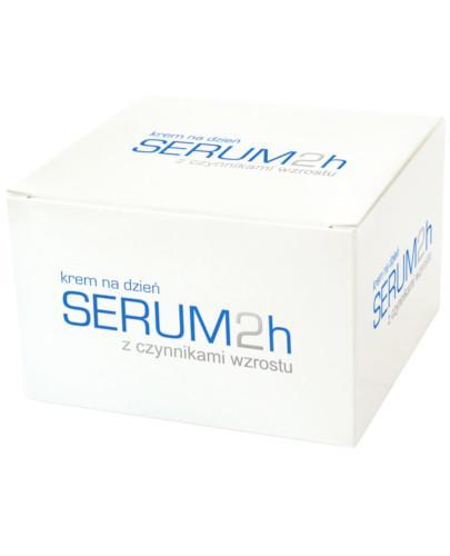 Serum 2h krem z czynnikami wzrostu z proteinami pereł i kawioru na dzień 50 ml