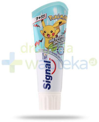 Signal miętowa pasta do mycia zębów dla dzieci Pokemon 75 ml