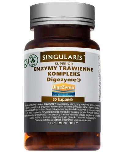 Singularis Superior Kompleks Digezyme enzymy trawienne 30 kapsułek