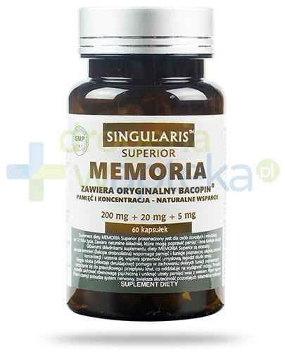 Superior Singularis Memoria 200mg + 20mg + 5mg 60 kapsułek
