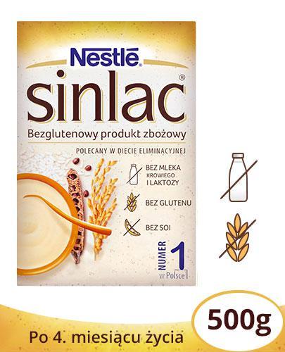 Sinlac Nestlé bezglutenowy produkt zbożowy proszek 500 g