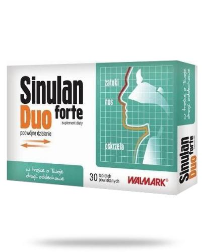 Sinulan Duo Forte 30 tabletek