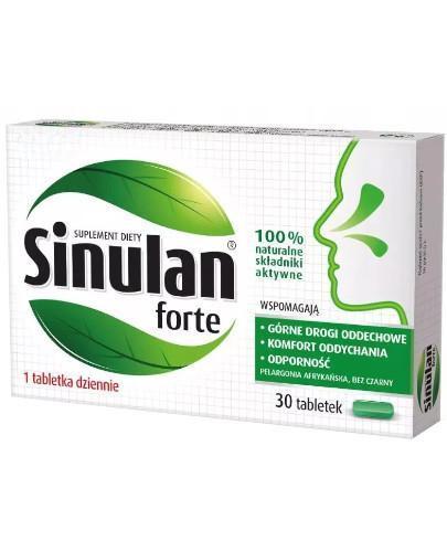 Sinulan Forte 30 tabletek