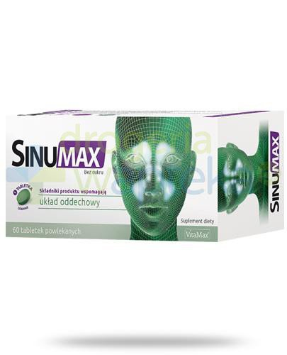 SinuMax 60 tabletek  whited-out