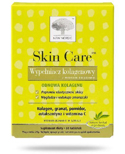 Skin Care Wypełniacz Kolagenowy 60 tabletek