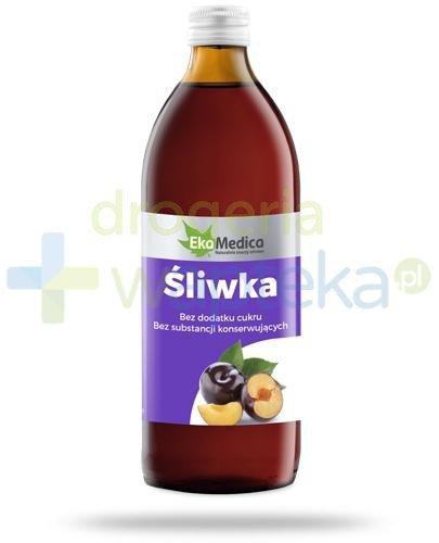 EkaMedica Śliwka sok pasteryzowany 500 ml