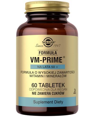 SOLGAR Formuła VM-Prime na lata 50+ 60 tabletek