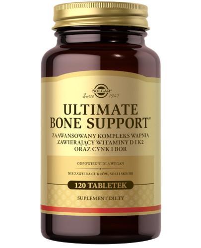 SOLGAR Ultimate Bone Support odżywianie kości 120 tabletek
