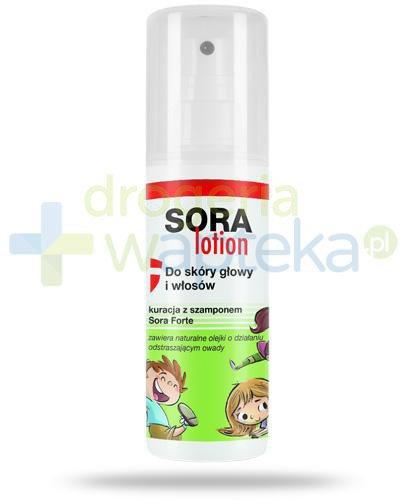 Sora Lotion do skóry głowy i włosów 100 ml