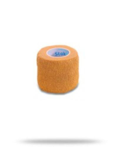 Stokban bandaż elastyczny samoprzylepny cielisty 10cm x 4,5m