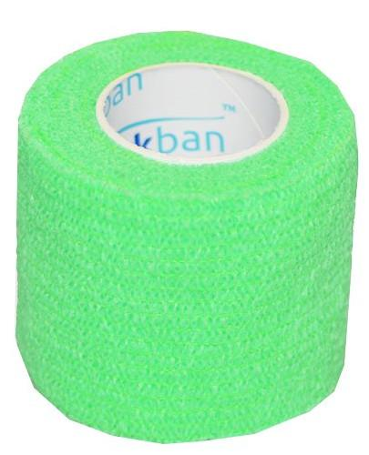 Stokban bandaż elastyczny samoprzylepny jasny zielony 5cm x 4,5m 1 sztuka