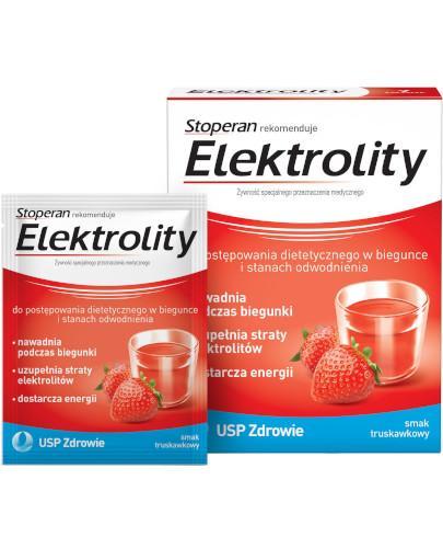 Stoperan Elektrolity smak truskawkowy 7 saszetek