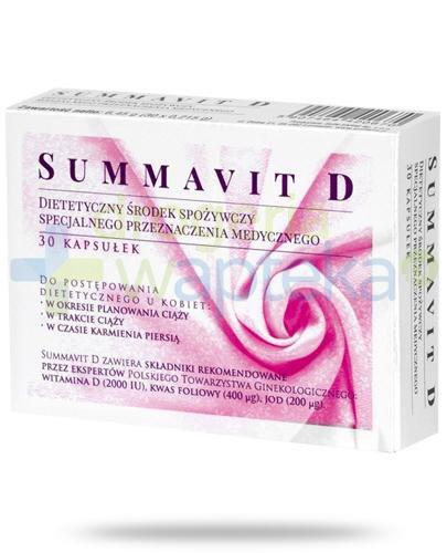 Summavit D 30 kapsułek