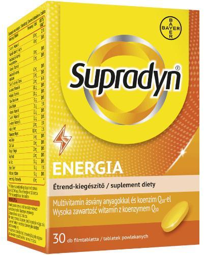 Supradyn Energia 30 tabletek powlekanych