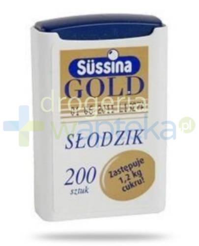 Sussina Gold słodzik z dozownikiem 200 tabletek  whited-out