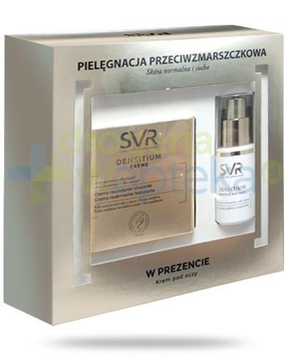 SVR Densitium Creme nawilżający krem liftingujący 50 ml + Contour Des Yeux krem pielęgnacyjny do skóry wokół oczu 15 ml [ZESTAW]