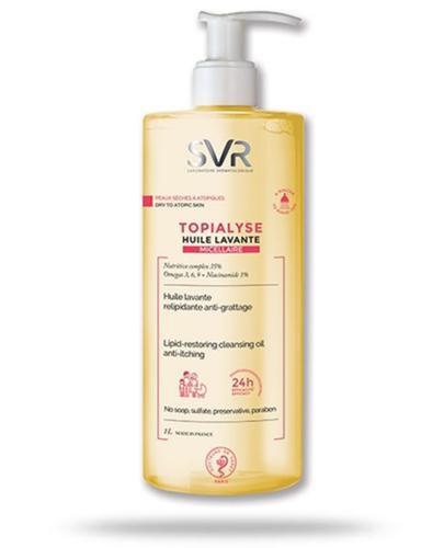 SVR Topialyse Huile Lavante Micellaire olejek do mycia i kąpieli dla skóry suchej, wraż...