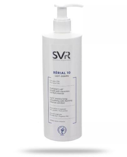 SVR Xerial 10 Lait Corps wygładzające mleczko do ciała 400 ml