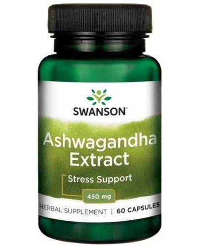 Swanson Ashwagandha Extract 450mg 60 kapsułek