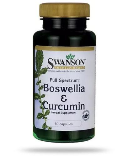 Swanson FS Boswellia & Curcumin 60 kapsułek