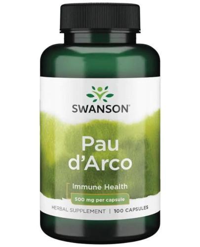 Swanson Pau d'Arco 500 mg 100 kapsułek