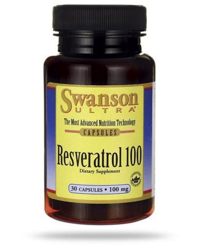 Swanson Resveratrol 100mg 30 kapsułek