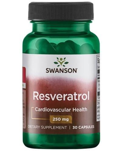 Swanson Resveratrol (Resweratrol) 250mg 30 kapsułek