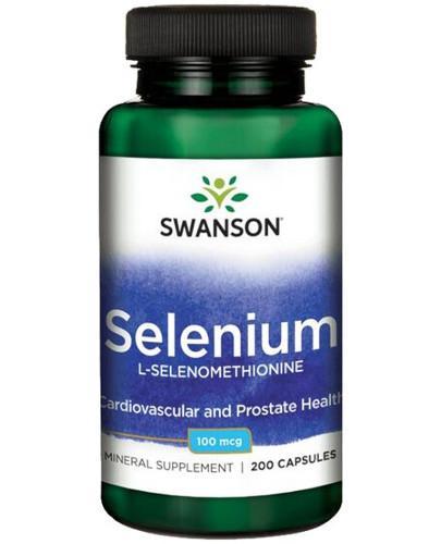 Swanson Selenium SeLECT Selen 100mcg 200 kapsułek