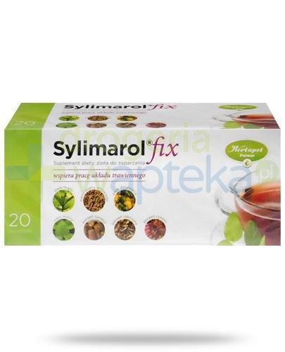 Sylimarol Fix zioła do zaparzania 20 saszetek