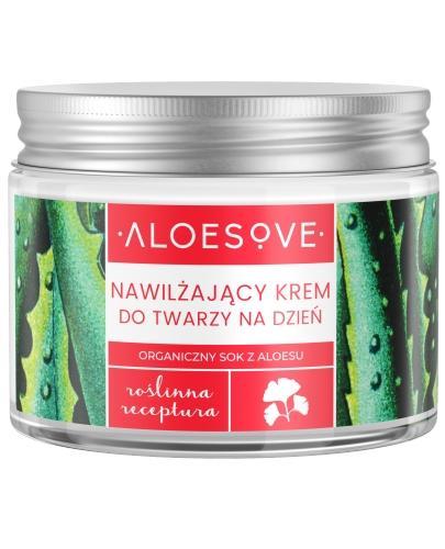 Sylveco Aloesove nawilżający krem do twarzy na dzień 50 ml