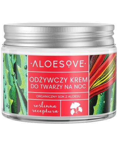 Sylveco Aloesove odżywczy krem do twarzy na noc 50 ml