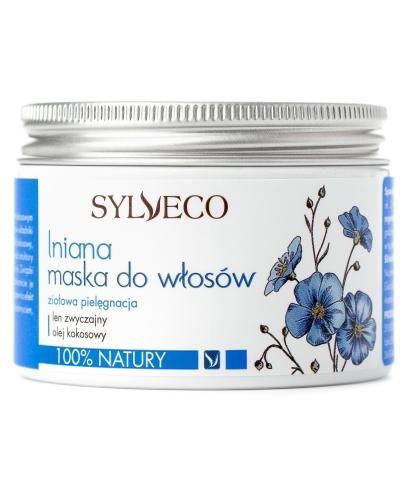 Sylveco lniana maska do włosów 150 ml