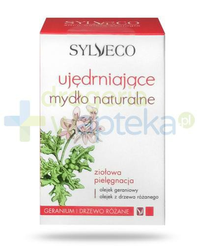 Sylveco ujędrniające mydło naturalne geranium i drzewo różane 120 g