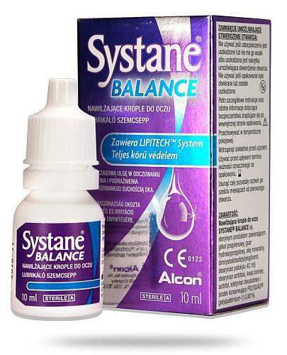 Systane Balance nawilżające krople do oczu 10 ml [Data ważności 31-10-2020]