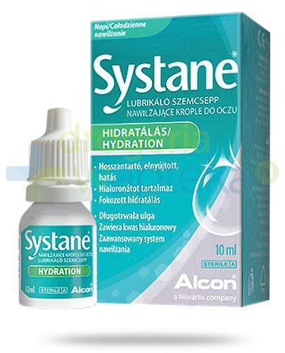 Systane Hydration nawilżające krople do oczu 10 ml