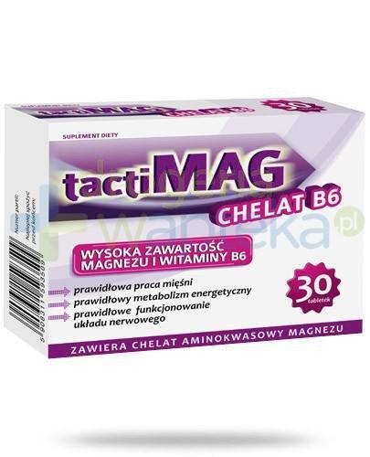 TactiMag Chelat B6 30 tabletek