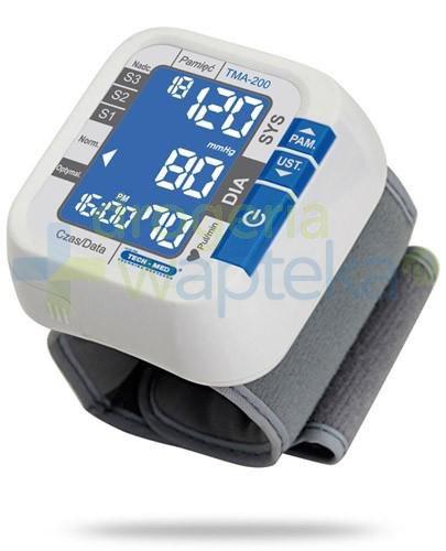 Tech-Med TMA-200 ciśnieniomierz automatyczny nadgarstkowy 1 sztuka
