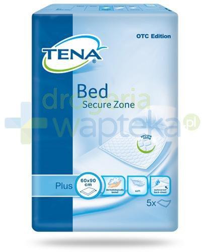 Tena Bed Secure Zone Plus podkłady higieniczne 60x 90cm 5 sztuk