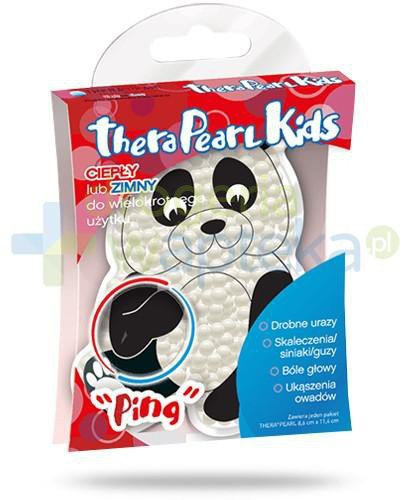 TheraPearl Kids Panda perły do terapii ciepłem i zimnem 1 sztuka  whited-out