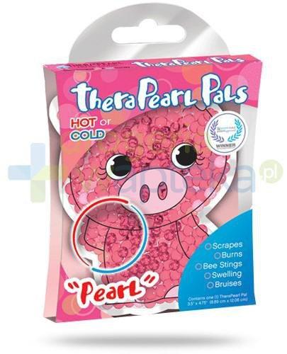 TheraPearl Kids Świnka perły do terapii ciepłem i zimnem 1 sztuka  whited-out