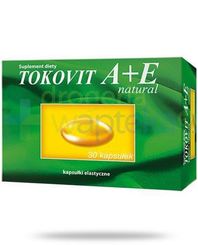 Tokovit A+E Natural 30 kapsułek
