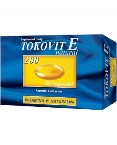TokoVit E Natural 200 60 kapsułek