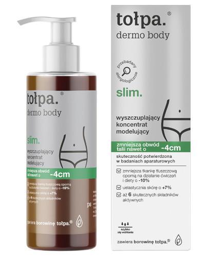Tołpa Dermo Body Slim wyszczuplający koncentrat modelujący 250 ml