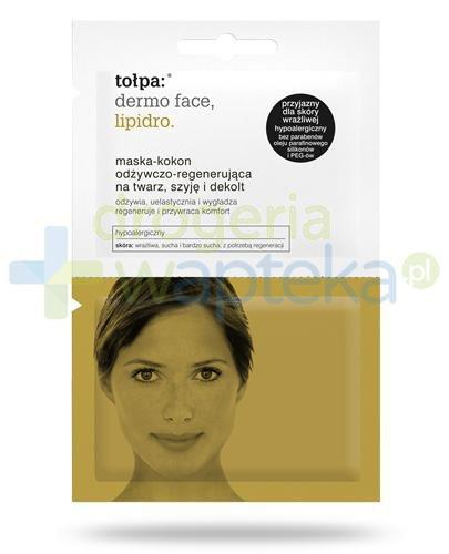 Tołpa Dermo Face Lipidro maska-kokon odżywczo-regenerująca na twarz szyję i dekolt 2...
