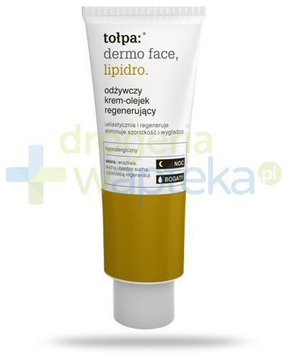 Tołpa Dermo Face Lipidro odżywczy bogaty krem-olejek regenerujący a noc 40 ml