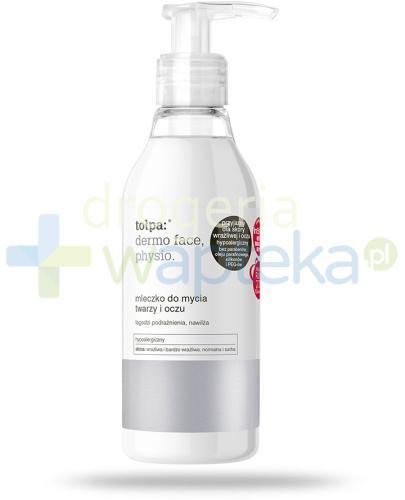 Tołpa Dermo Face Physio mleczko do mycia twarzy i oczu 195 ml