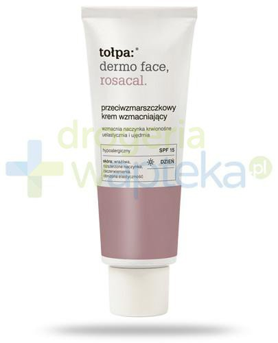 Tołpa Dermo Face Rosacal przeciwzmarszczkowy krem wzmacniający na dzień SPF15 40 ml