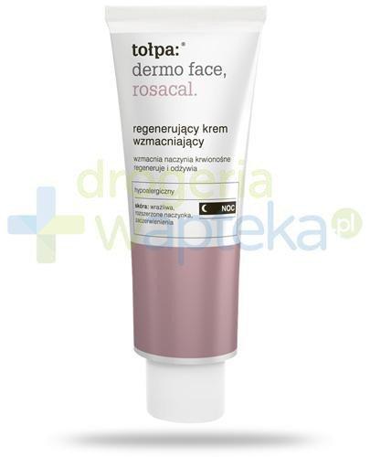 Tołpa Dermo Face Rosacal regenerujący krem wzmacniający na noc 40 ml